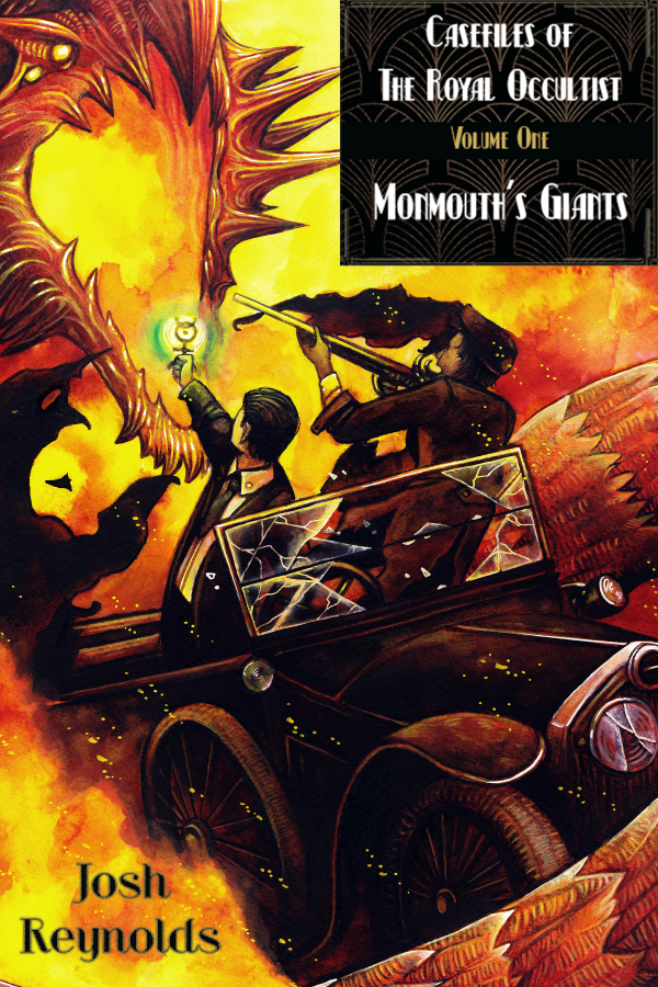 High res cover of casefiles of the royal occultist monmouths giants 600x900