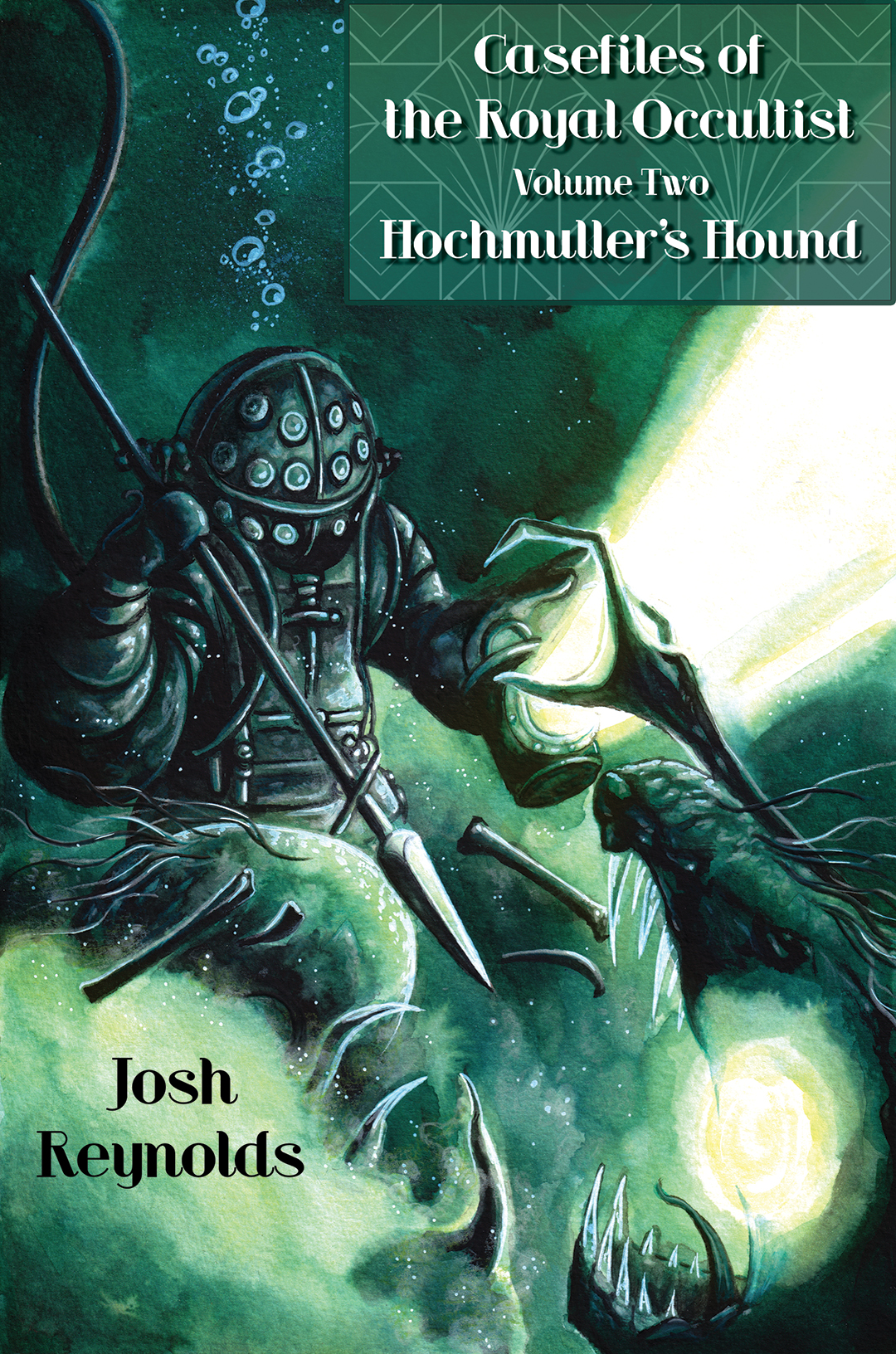 Casefiles of the royal occultist volume 2 cover