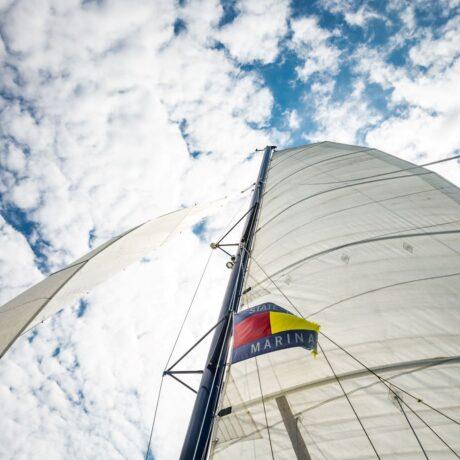 State Park Marina'S Spirit of America catamaran