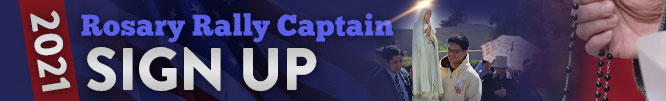 October Rally Captain Sign Up Banner