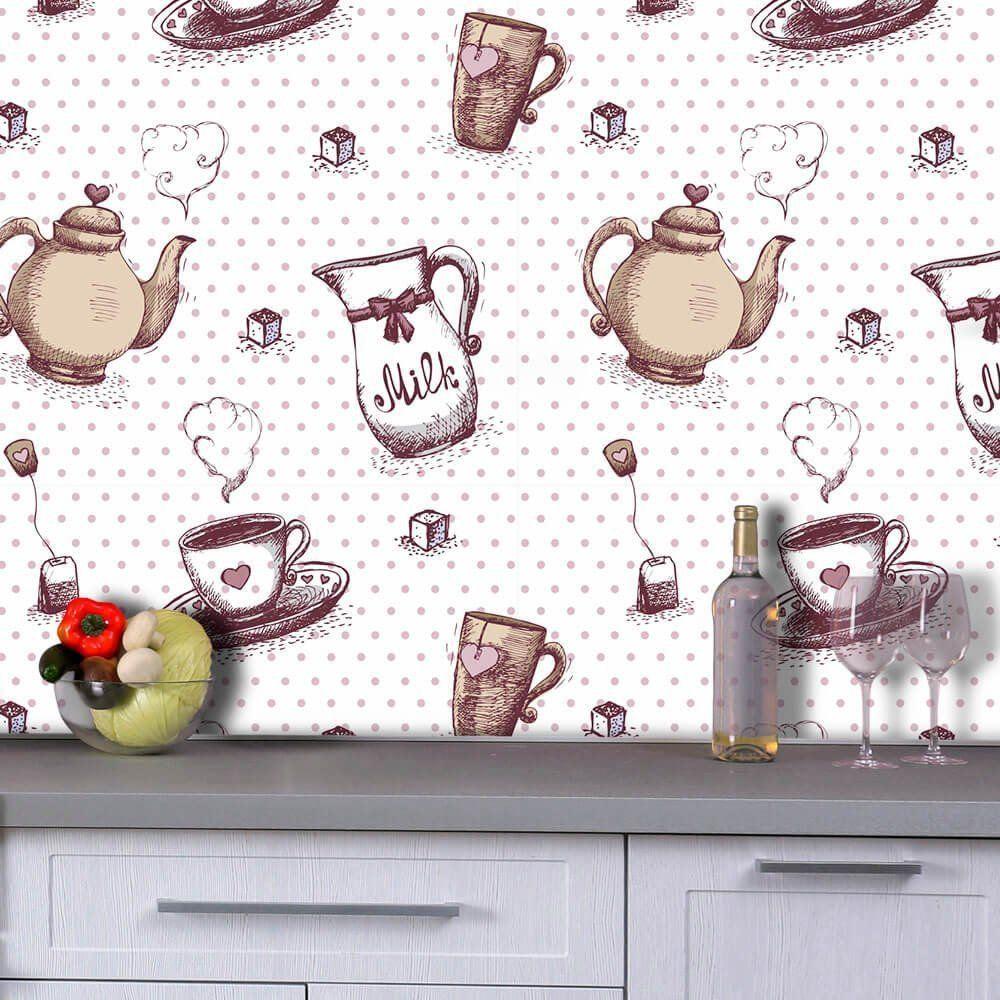 Cozinha - Papel de Parede - 0,58 x 1,50m