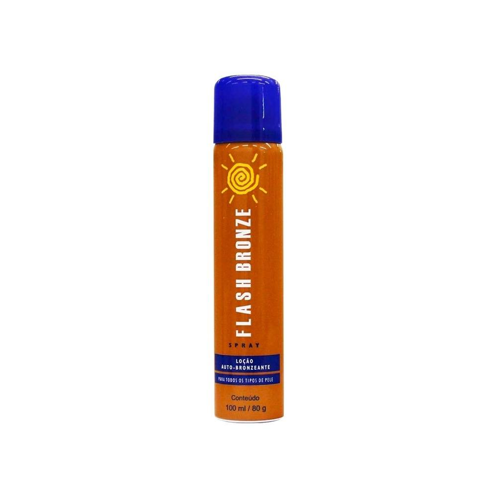 Flash Bronze Spray Auto Bronzeador A Jato 100ml