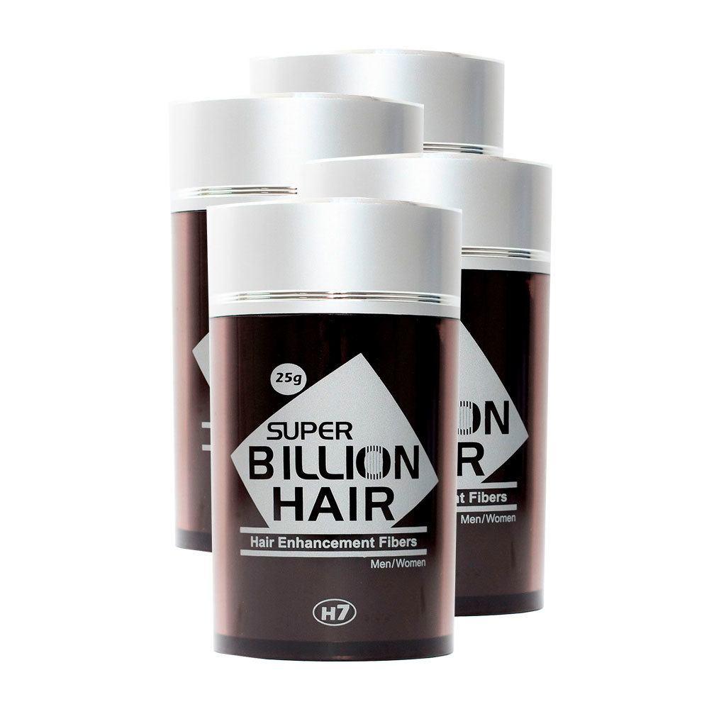 Kit 04 Maquiagem pra Calvície Billion Hair - 25g