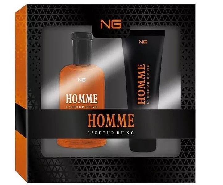 Kit Lodeur Du Homme Perfume + Gel de Banho da Ng Perfumes