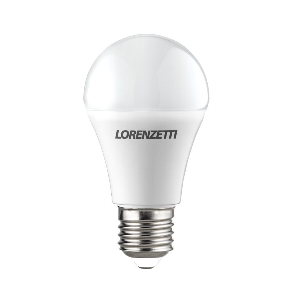 Lâmpada Led 9w Bulbo Bivolt E27 Lorenzetti A60 Branco Frio