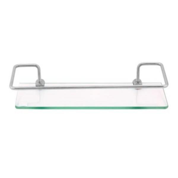 Porta Shampoo Reto E Retangular Oliveira 6mm Com Vidro Luxo