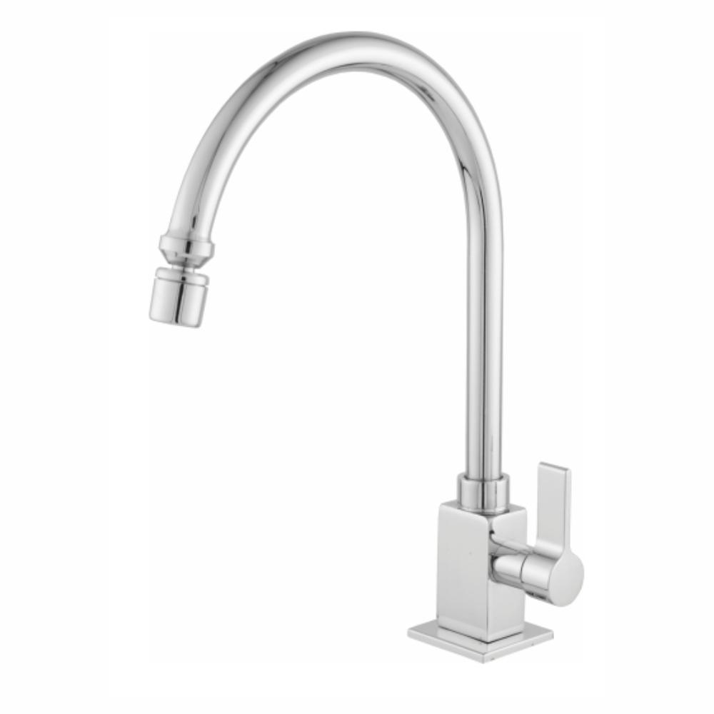 Torneira Banheiro Cozinha Quadrada Mesa Quadri Premium Oliveira C-70