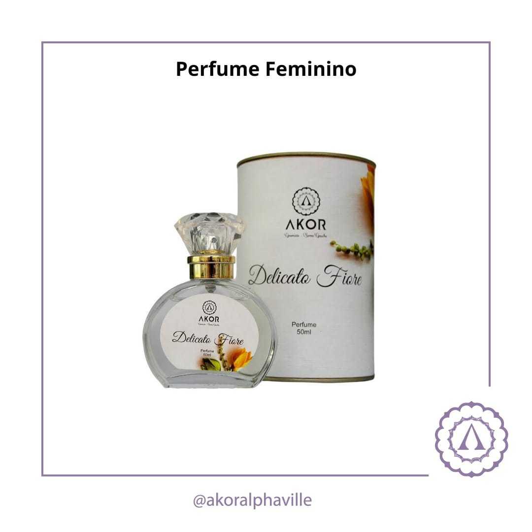Perfume Feminino Delicato Fiore
