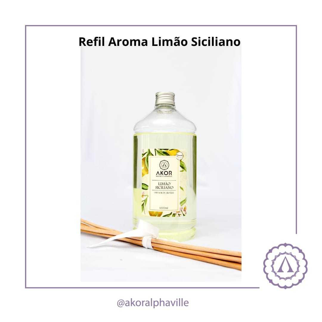 Refil Aroma Limão Siciliano 1Litro