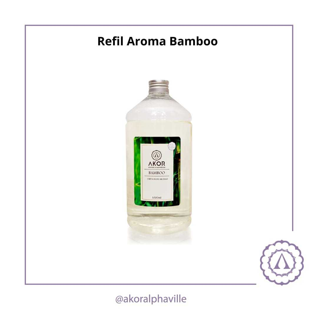 Refil Aroma Bamboo 1 litro