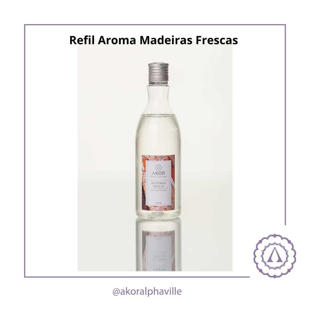 Refil Difusor Madeiras Frescas 300ml