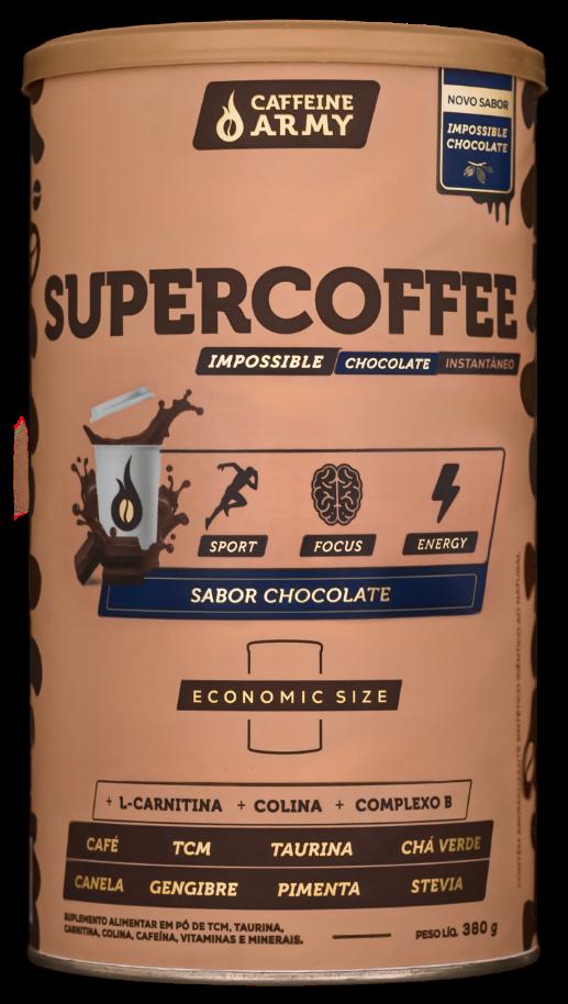 SuperCoffee Chocolate ECONOMIC SIZE - 380g