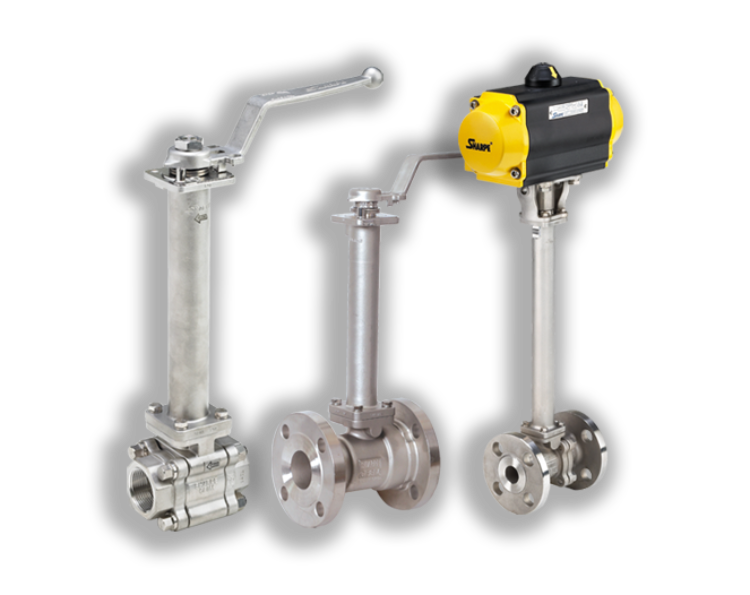 Sharpe® Fire-Safe Cryogenic Ball Valves Series FSC70/FSC74 & FSC80/FSC89 Now Available