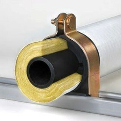 Klo-Shure® Strut Mounted Insulation Coupling used with Fiberglass Insulation