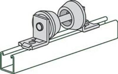 """AS 1902 (1"""" to 8"""" Pipe) Pipe Roller Support"""