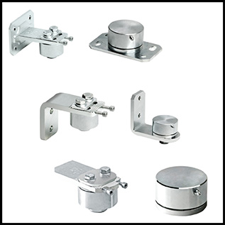 Bi-Folding Gate System Hinges