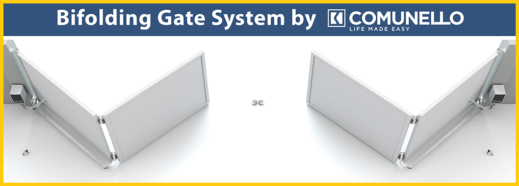 Bi-Folding Gate System