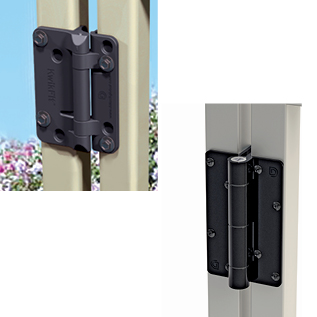 KwikFit Aluminum and Polymer Hinges