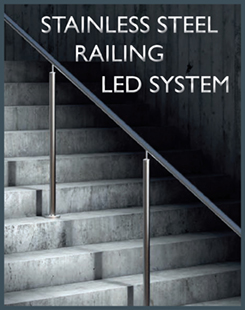 LED System for Stainless Steel Railing