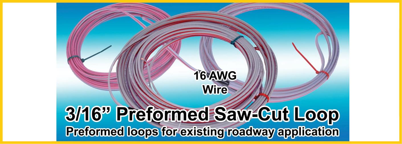 Preformed Saw-Cut Loops