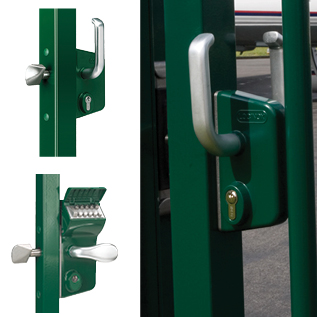 Slide Gate Lock-Standard Locking & Mechanical Code