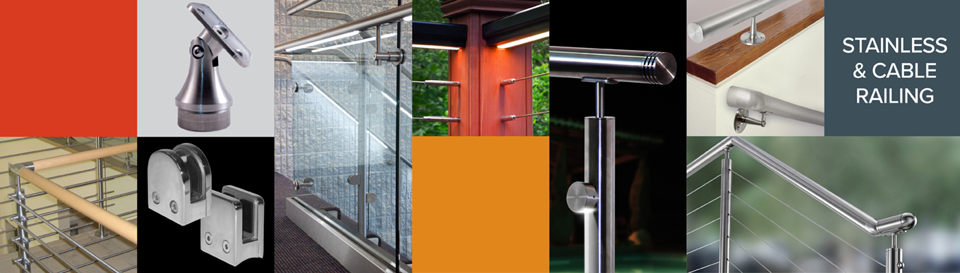 Stainless, Cable & Glass Railing