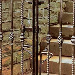 Steel/Aluminum Gate