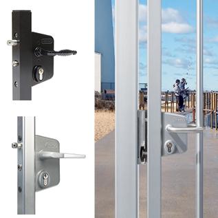 Swing Gate Lock-Industrial Style