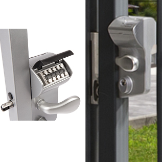 Swing Gate Lock-Mechanical Code