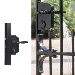 Swing Gate Lock-Ornamental Style