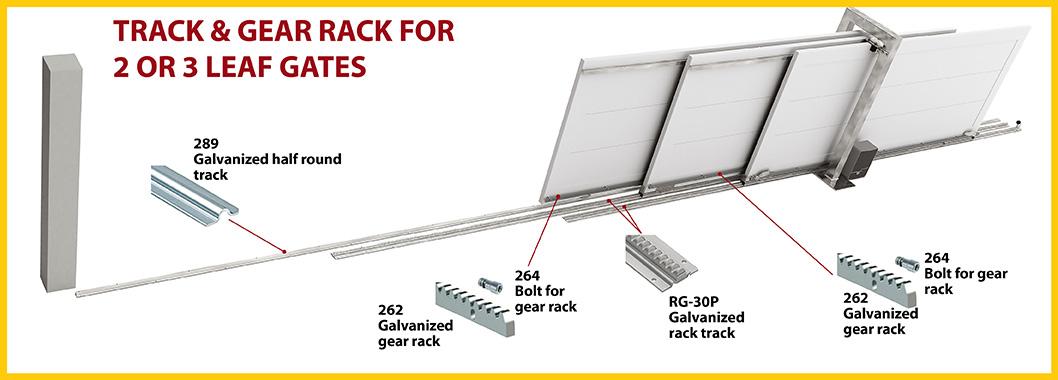 Track & Gear Rack