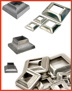 Aluminum Cover Plates, Flanges & Shoes