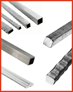 Aluminum Tubing, Textured and Plain Bar