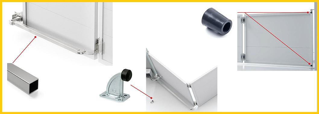 Accessories for Bi-Folding Gate