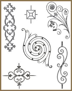 Decorative Railing Panels