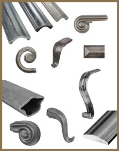 Steel Handrail and Fittings