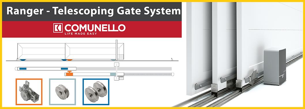 Telescoping Gate System