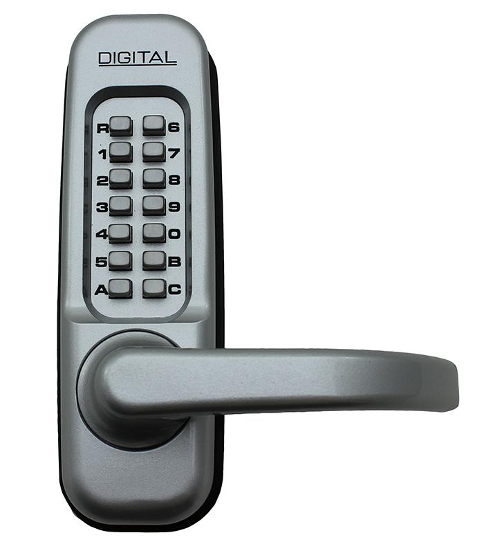 1150 Keyless Mechanical Heavy Duty Spring Latch Door Lock - Marine Grade