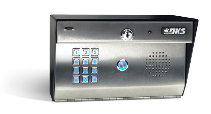 DoorKing 1812-Classic Surface Mount Telephone Entry System