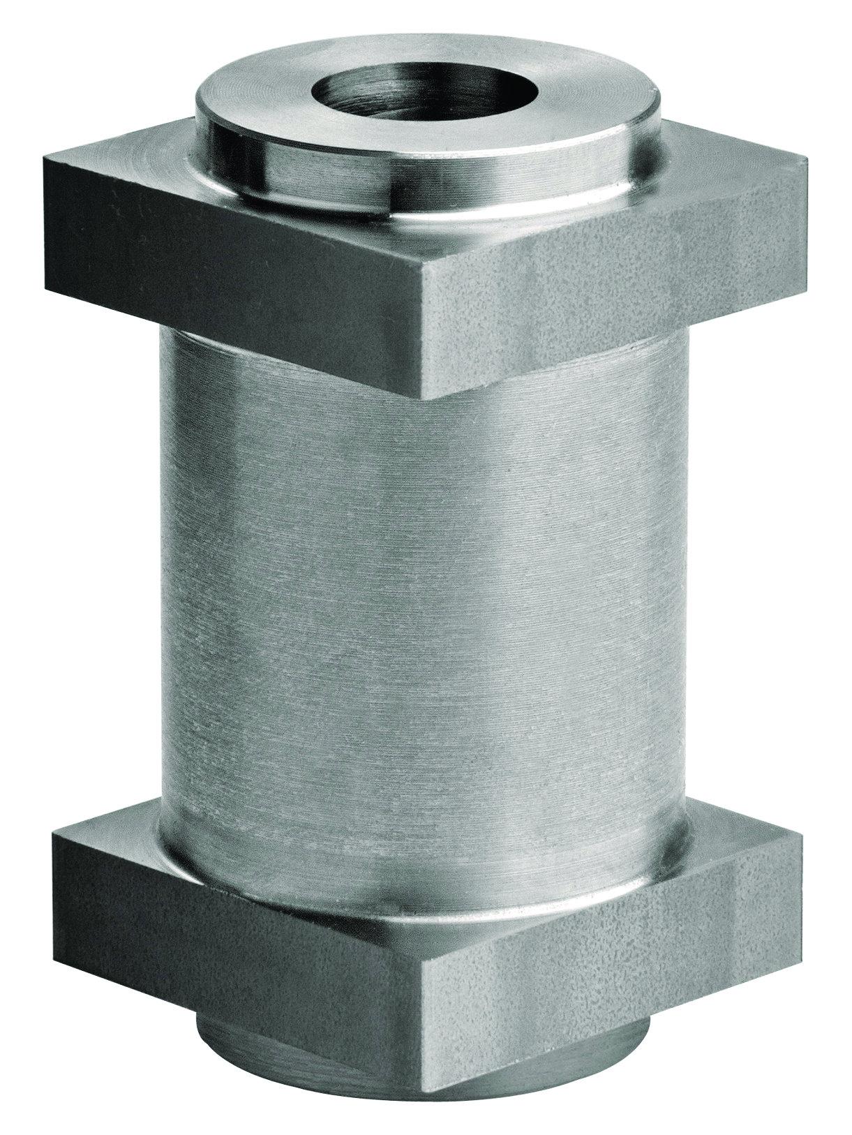 Holed Pivot w/Square Base for Clamp Hinge item 180-M18