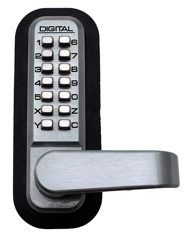 2835 Keyless Mechanical Spring Latch Door Lock - Marine Grade