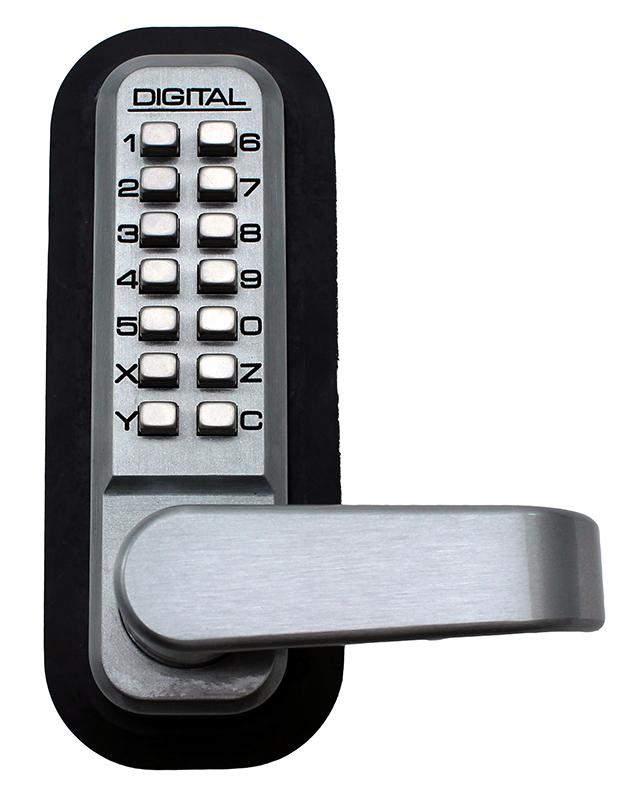 2985 Keyless Mechanical Digital Adams Rite Stile Latch Door Lock - Marine Grade
