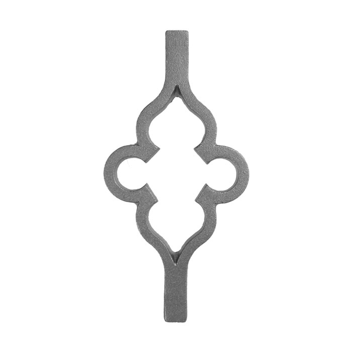 """Infill Panel for 7/8"""" sq., Cast Iron, 10"""" Tall, Single Faced"""