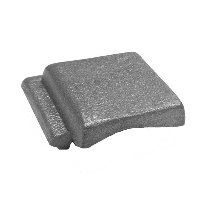 Corner Cap, Cast Iron, use with Tubular Handrail THR