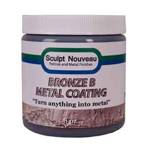 8 oz. Bronze B Metal Coating