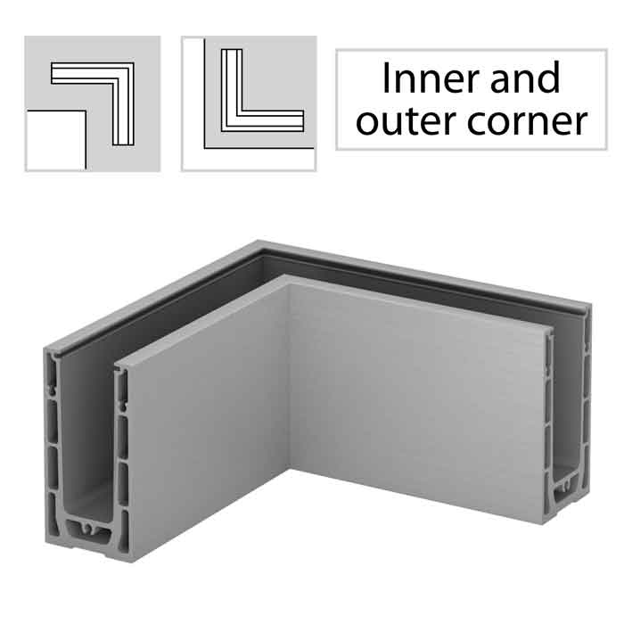 Aluminum Corner Connectors