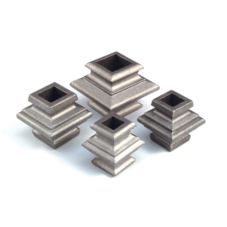 """Aluminum Picket Collars, Marine Grade for 1/2"""", 5/8"""", 3/4"""" and 1"""" Square Bar"""