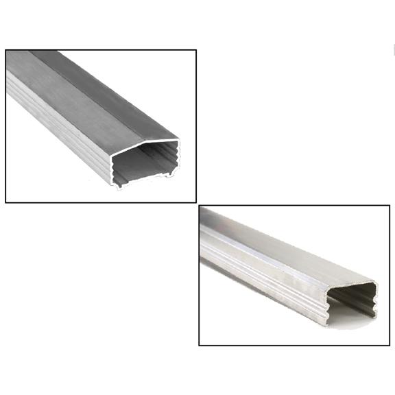 Wood Style Aluminum Handrail and Bottom Rail
