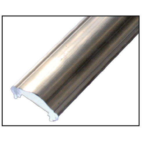 "Aluminum Handrail Moldings in 1-3/4"", 2"" and 2-1/4"" wide"