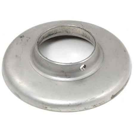 "Aluminum Heavy Base Plain Flange with Set Screw for 1-1/4"" and 1-1/2"" Sch. 40 Pipe"